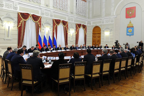 Заседание Совета помежнациональным отношениям вАстрахани, 31октября 2016   «Россия для всех»