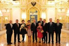 Вручение Государственных премий Российской Федерации   «Россия для всех»