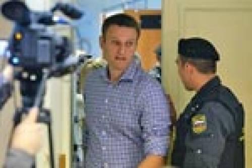 А. Навального осудили на 5 лет
