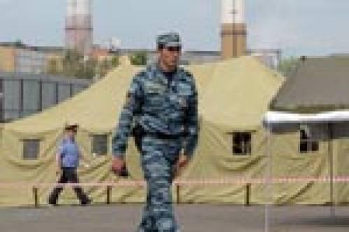 В Москве сколотили палаточный лагерь для мигрантов