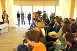 «Школа языков мигрантов» вмосковском парке искусств МУЗЕОН, 3мая 2013   «Россия для всех»